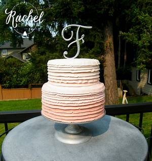 Pink Ombre - Cake by Rachel~Cakes