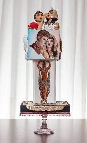 Love is the Ultimate Victory - Cake by Gulcin Tekkas