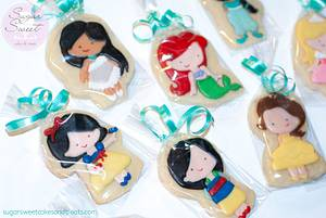Little Princess Cookie Favors - Cake by Angela, SugarSweetCakes&Treats
