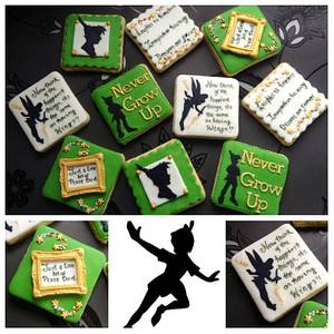 Peter Pan Cookies ... Let's go to Neverland - Cake by Cookie Delicious