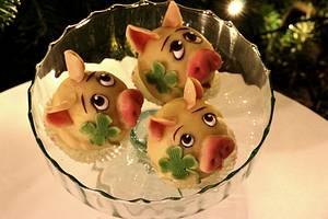 Happy New Year Pigs - Cake by Agnes Havan-tortadecor.hu