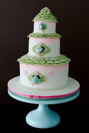 The Sugar Nursery's BirdHouse Cake - Cake by The Sugar Nursery - Cake Shop & Imaginarium
