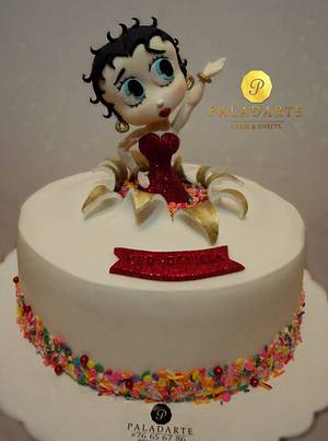Betty Boop - Cake by Paladarte El Salvador