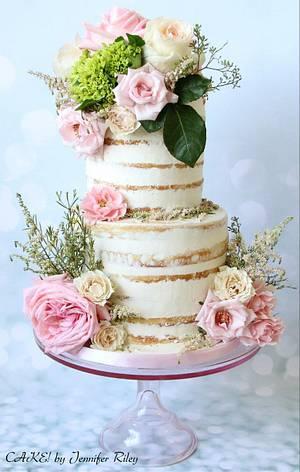 I Heart Naked Cakes - Cake by Cake! By Jennifer Riley