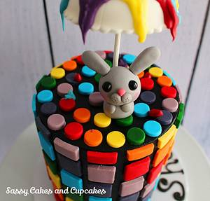 Easter Showers - Cake by Sassy Cakes and Cupcakes (Anna)