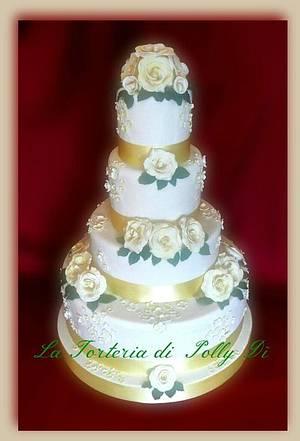 Il giorno più bello !!! - Cake by La Torteria di Polly Dì