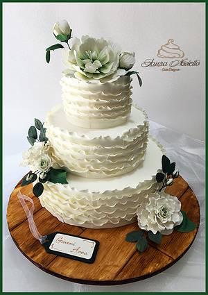 Wedding Cake - Cake by NovielloCake