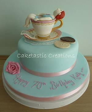 A Tea lovers dream Cake - Cake by Caketastic Creations