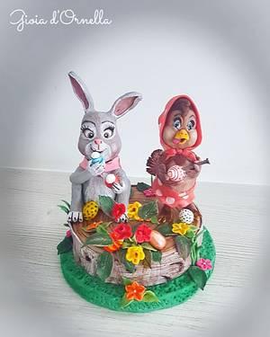 Eggs drawn☆ - Cake by Ornella Marchal