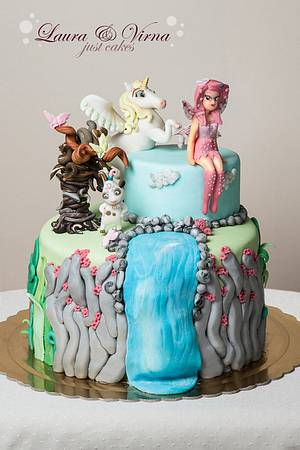 Mia and Me - Cake by Laura e Virna just cakes