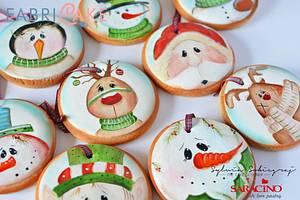 Christmas cookies - Cake by Sylwia Sobiegraj The Cake Designer