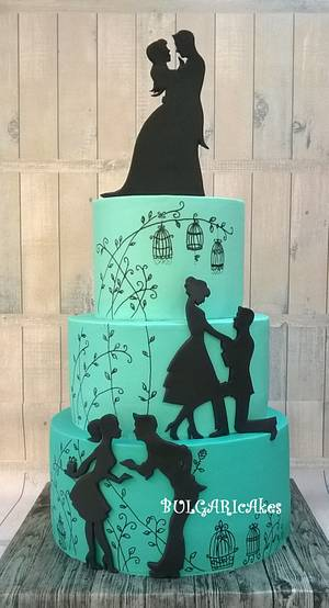 ...and they lived... - Cake by BULGARIcAkes