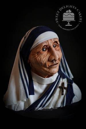 Mother Teresa of Calcutta - Cake by Sweet Delights Cakery