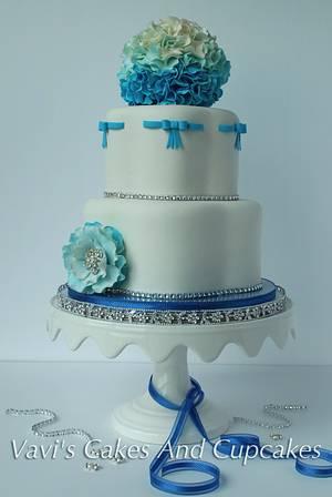 My Twins' 16th Birthday Party Cake - Cake by Vavijana Velkov