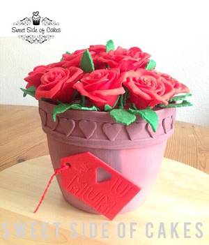 For My Mom - My 1st Mother's Day Cake - Cake by Sweet Side of Cakes by Khamphet