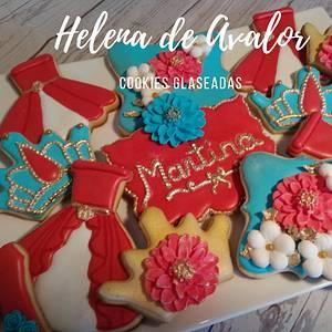 Helena de Avalor cookies - Cake by Claudia Smichowski