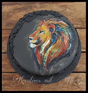 The magic Lion - Cake by Heike Darmstädter