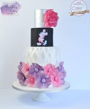 Mickey - Cake International - Cake by Magda's Cakes (Magda Pietkiewicz)