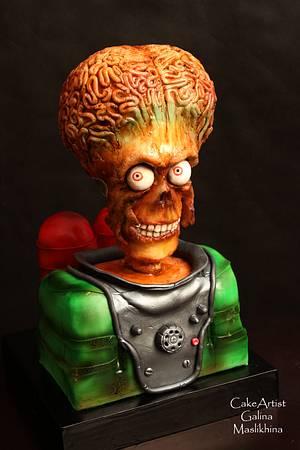 """3D cake by """"Mars Attacs"""" - Cake by Galina Maslikhina"""
