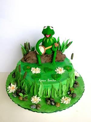 kermit the frog - Cake by Sophia Voulme
