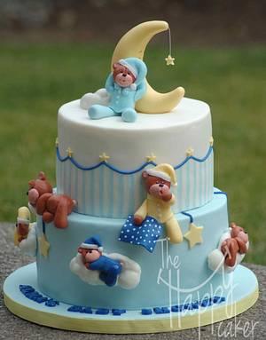 Sleepy teddy bears - Cake by Shannon Davie