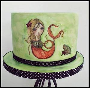 Mermaid  - Cake by Time for Tiffin