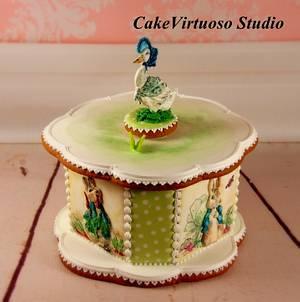 Easter gingerbread box - Cake by Natasha Ananyeva (CakeVirtuoso Studio)