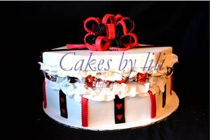 Gift box cake - Cake by Lize van den Heever