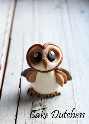 Little Barn Owl  - Cake by Etty