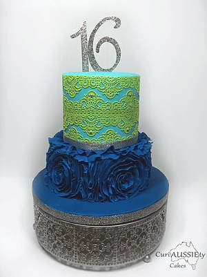 Sweet sixteen  - Cake by CuriAUSSIEty  Cakes
