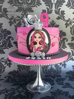 Ever After High - Briar Beauty - Cake by Aurelia's Cake