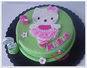 Hello Kitty - Cake by Sara - WISH A CAKE & Company