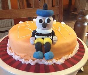 A Bertie Bassett birthday cake! - Cake by Woody's Bakes