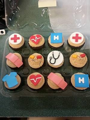 Doctor Cupcakes - Cake by Tonya