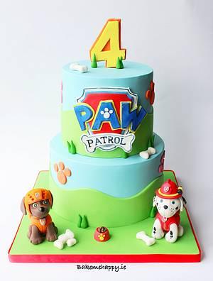 Paw patrol cake - Cake by Elaine Boyle....bakemehappy.ie