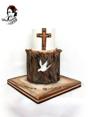 Confirmation Wood cake - Cake by Ivon