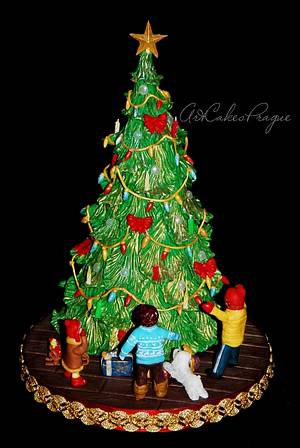 Christmas  miracle and childrens - Cake by Art Cakes Prague