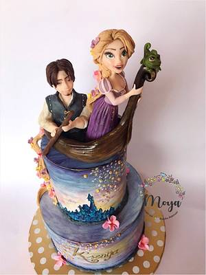 Rapunzel cake - Cake by Branka Vukcevic