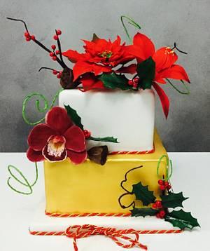 Christma's Cake  - Cake by gennarocakekr