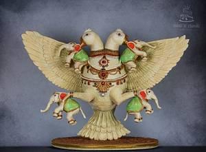 Double headed eagle  - Cake by Hima bindu