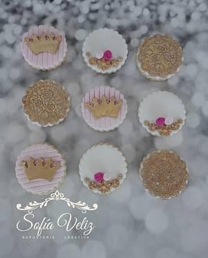 Romanticas cookies - Cake by Sofia veliz