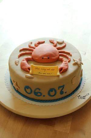crab cake - Cake by tuti