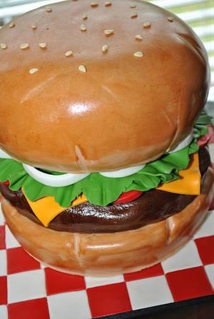 Hamburger Cake - Cake by Hope Crocker
