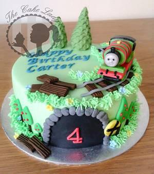 Percy Engine Cake - Cake by Gemma Harrison