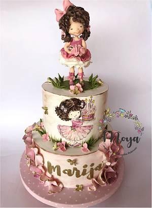 Little girl cake  - Cake by Branka Vukcevic