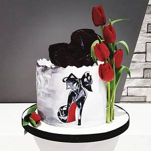 40 and fabulous  - Cake by SWEET ART Anna Rodrigues