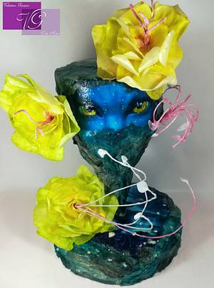 Avatar Cake Wafer paper  - Cake by Valentina Graniero