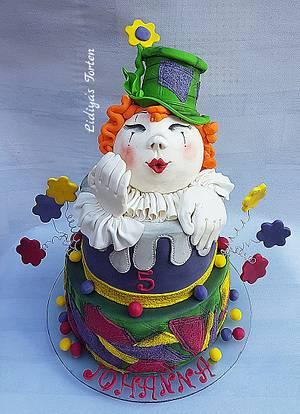 Cloun - Cake by Lidiya Petrova