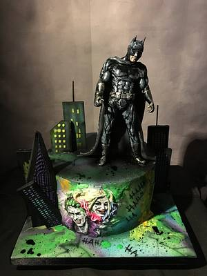Batman Suicide Squad Cake - Cake by Nightwitch