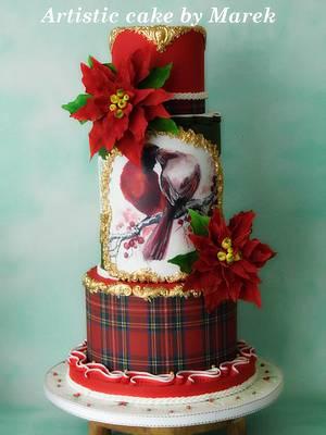 christmas cake - Cake by Marek